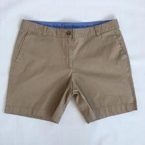 Talbots Shorts Size 12 The Weekend Chino Khaki